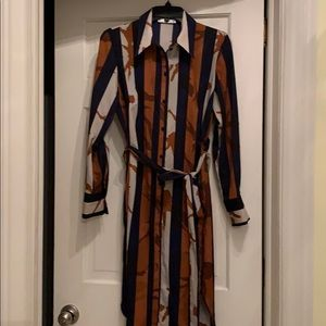 Mango printed dress